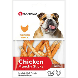 Flamingo - Flamingo Chicken Snack Tavuklu Çubuk Köpek Ödülü 85g