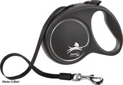 Flexi - Flexi Black Design 5 m Şerit Tasma L Siyah