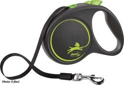 Flexi - Flexi Black Design 5 m Şerit Tasma L Yeşil