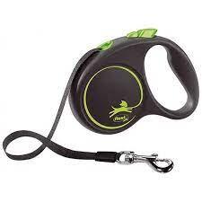Flexi - Flexi Black Design 5 m Şerit Tasma S Yeşil