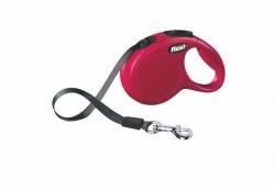 Flexi - Flexi New Classic 3 m Şerit Tasma XS Kırmızı
