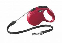 Flexi - Flexi New Classic 5 m İp Tasma M Kırmızı