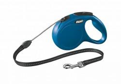Flexi - Flexi New Classic 5 m İp Tasma M Mavi