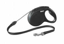 Flexi - Flexi New Classic 5 m İp Tasma M Siyah