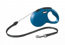 Flexi - Flexi New Classic 5 m İp Tasma S Mavi