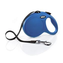 Flexi - Flexi New Classic 8 m Şerit Tasma L Mavi