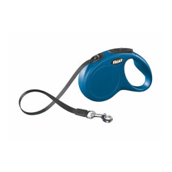 Flexi - Flexi New Classic - Şerit Köpek Tasması L Mavi 5 m