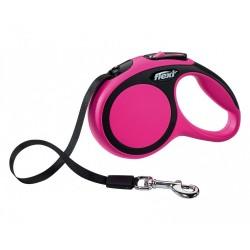 Flexi - Flexi New Comfort 3 M Şerit Tasma XS Pembe