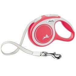 Flexi - Flexi New Comfort 5 M Şerit Tasma Kırmızı