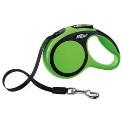 Flexi - Flexi New Comfort 5 M Şerit Tasma L Yeşil