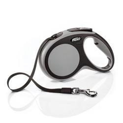 Flexi - Flexi New Comfort 5 M Şerit Tasma S Gri
