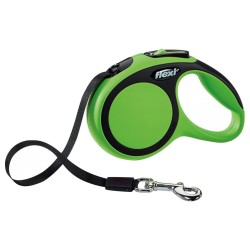 Flexi - Flexi New Comfort 5 M Şerit Tasma S Yeşil