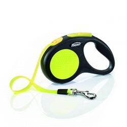 Flexi - Flexi New Neon S 5m Şerit Tasma