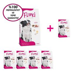 Dfc - Floki Yetişkin Tavuklu Köpek Maması 15 Kg 5+1 KAMPANYA