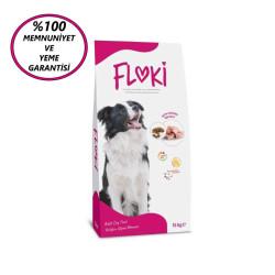 Dfc - Floki Yetişkin Tavuklu Köpek Maması 15 Kg