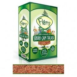 Fatih-Pet - Flora Siyah Çam Talaşı 50 gr 6 lı