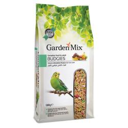 Garden Mix - GardenMix Budgies Platin Meyveli Muhabbet Kuş Yemi 1 Kg