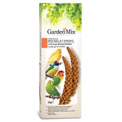 Garden Mix - Gardenmix Platin Kırmızı Dal Darı Kutulu 150g