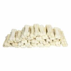 Garden Mix - Gardenmix Sütlü Deri Kemik 8cm 20-25gr 50li Paket