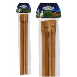 Getreide - Getreide Ahşap Tünek 40 cm 4 lü