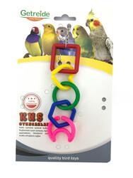 Getreide - Getreide Geometrik Şekilli Kuş Oyuncağı