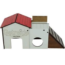 Getreide Hamster Kalesi Medium - Thumbnail