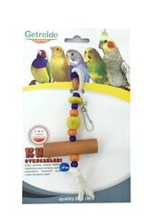 Getreide - Getreide İpli Tahta Kuş Oyuncağı