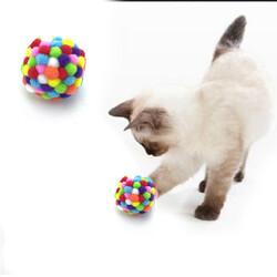 Fatih-Pet - Gökkuşağı Peluş Oyuncak 5.5 cm 4 lü