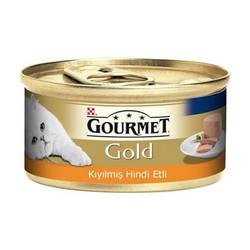 Nestle Purina - Gourmet Gold Kıyılmış Hindi Etli Kedi 85g 24 lü