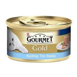 Nestle Purina - Gourmet Gold Kıyılmış Ton Balıklı Yetişkin Kedi Konservesi 85g 24 lü