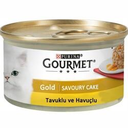 Nestle Purina - GourmetGold Savoury Cake Tavuk Etli ve Havuçlu Konserve 85gr