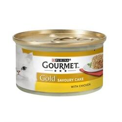 Nestle Purina - GourmetGold Savoury Cake Tavuk Etli Konserve 85gr