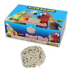 Vitasand - Grit Parrot Block - Grit Papağan Gagataşı 12 li