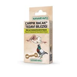 Kanaryapo - Güvercin Çarpık Bacak Tedavi Bileziği