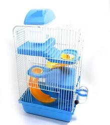 Fatih-Pet - DM156 Hamster Kafesi İki Katlı 42x22,5x15,5cm