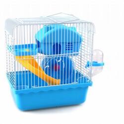 Fatih-Pet - DM174 Hamster Kafesi Yuvalı 24x17x25cm