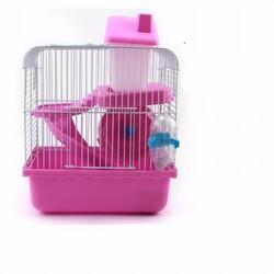 Fatih-Pet - DM105 Hamster Kafesi Yuvalı 24x18x30cm