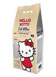 Hello Kitty - Hello Kitty 10lt Naturel Doğal Kokusuz Bentonit Kedi Kumu
