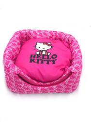 Hello Kitty - Hello Kitty 3 Fonksiyonlu Küp Kedi Evi Yatağı Pembe