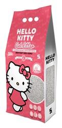 Hello Kitty - Hello Kitty 5lt Bebek Pudrası Kokulu Bentonit Kedi Kumu