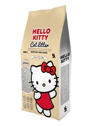 Hello Kitty - Hello Kitty 5lt Naturel Doğal Kokusuz Bentonit Kedi Kumu