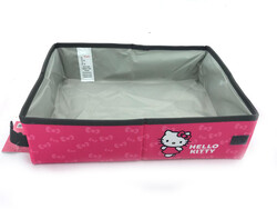 Hello Kitty - Hello Kitty Katlanabilir Tuvalet & Yatak Pembe
