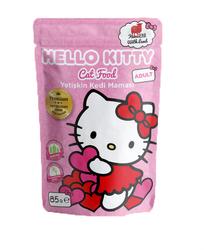 Hello Kitty - Hello Kitty Kuzu Etli Yetişkin Kedi Maması 85gr