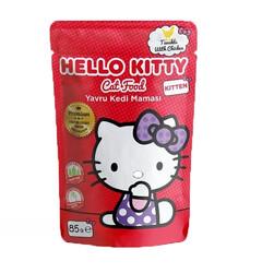 Hello Kitty - Hello Kitty Tavuklu Yavru Kedi Maması 85gr