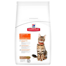 Hills - Hills Adult 1-6 Optimal Care Lamb Kuzulu Yetişkin Kedi Maması 5 Kg