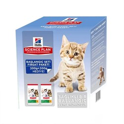 Hills - Hills Kitten Yavru Kedi Starter Kit Başlangıç Seti