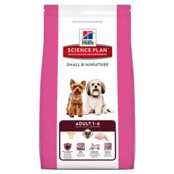 Hills - Hills SMALL&MINIATURE ADULT 1-6 Küçük Irk Yetişkin Köpek Maması 1,5 Kg