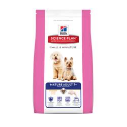 Hills - Hills SMALL&MINIATURE MTR ADULT 7+ Küçük Irk Yaşlı Köpek Maması 1,5 Kg