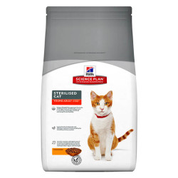 Hills - Hills Sterilised Cat Adult Tavuklu Yetişkin Kedi Maması 3,5 Kg