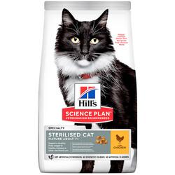 Hills - Hills Sterilised Cat Mature 7+ Chicken Kısır Olgun Yetişkin Tavuklu 1,5Kg